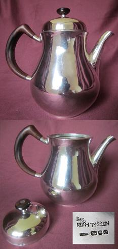 Silver Chocolate Pot