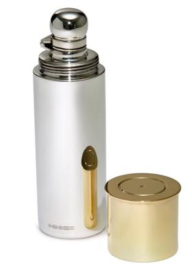 Silver Shotgun Cartridge Hipflask