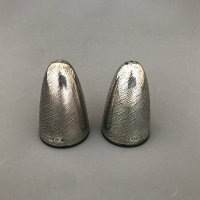 ADAM VEEVERS Silver 'VORTEX' SALT & PEPPER