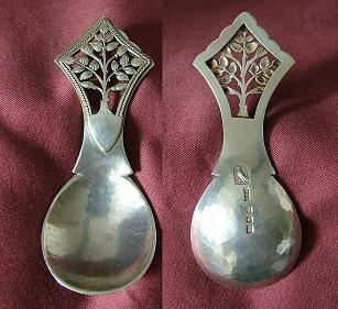 Silver Caddy Spoon