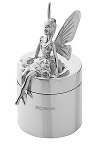 Silver Tooth Fairy Box
