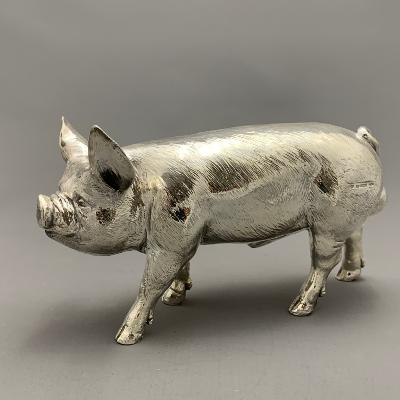 Large Silver PIG
