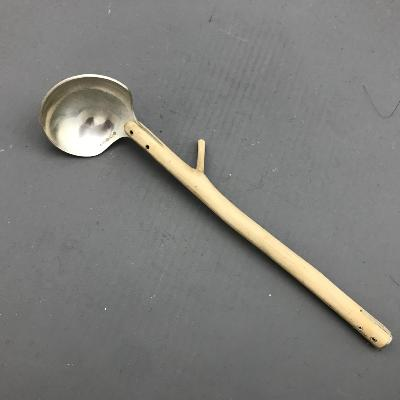 CHARLOTTE DUCKWORTH Silver & Holly Handle HONEY SPOON