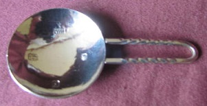 ROBERT WELCH Silver Caddy Spoon