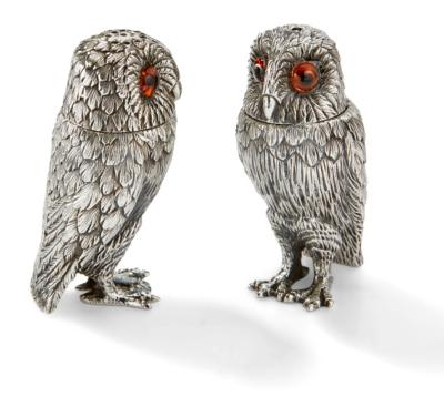 Silver Owl Pepper and Salt