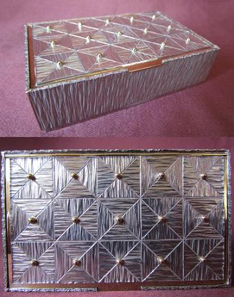 Silver and Gold Box