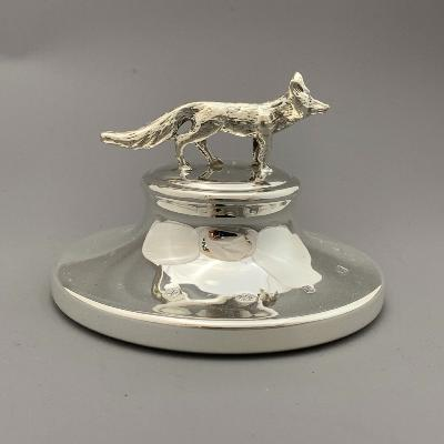 Silver FOX PAPERWEIGHT