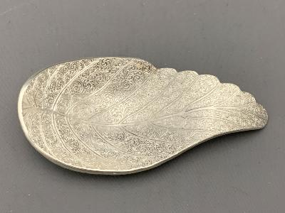 MALCOLM APPLEBY Silver CADDY SPOON - PROUDFOOT OWL