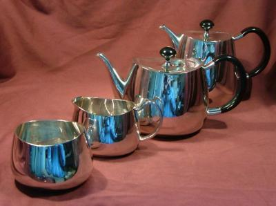 David Mellor Silver Tea/Coffee Set