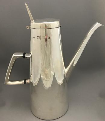 GERALD BENNEY Silver COFFEE POT