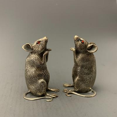 Silver MOUSE SALT & PEPPER