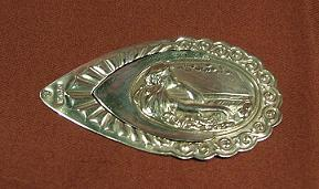 Art Nouveau Silver Bookmark