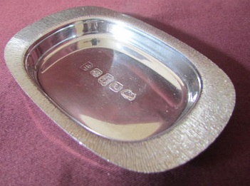 JACK SPENCER Silver Dish