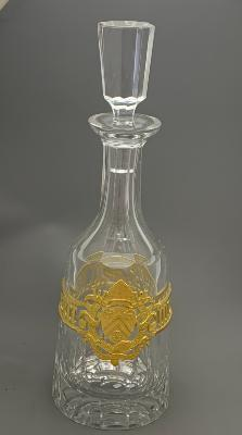 AURUM Silver 'WINCHESTER COLLEGE' Decanter