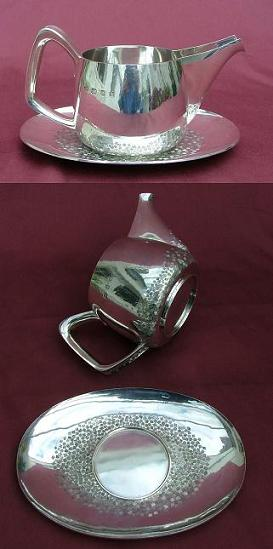 Good Quality Silver Sauceboat
