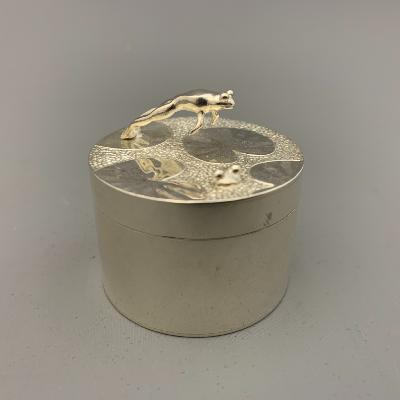 ANDREW BUCKINGHAM Silver FROG BOX