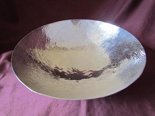 Amanda Birkett Large Silver Bowl