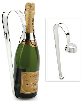 Silver Champagne Bottle Holder