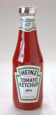 Silver Tomato Ketchup Lid