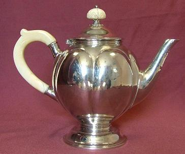 Silver Tea / Coffee Pot