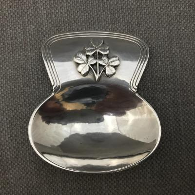 LESLIE DURBIN Silver Caddy Spoon