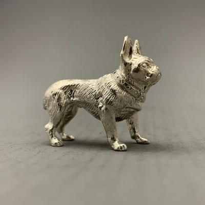 Silver FRENCH BULLDOG