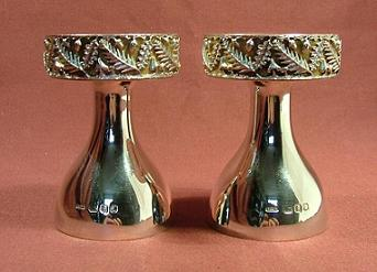 CHRISTOPHER LAWRENCE Silver Candlesticks