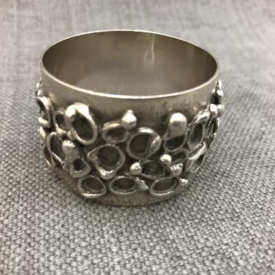 GRAHAM WATLING Silver Napkin Ring