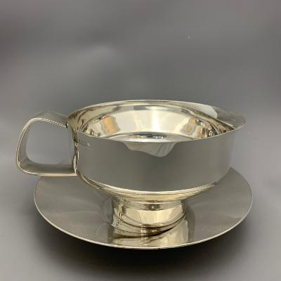 ROBERT WELCH Silver SAUCEBOAT on STAND