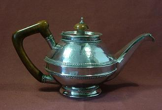 SANDHEIM BROTHERS Silver Tea Pot