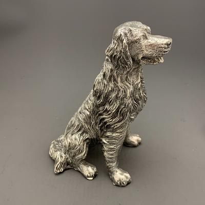 Silver Sitting RETRIEVER
